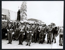 C0019 - Foto - DDR Propaganda Armee Kampfgruppe Parade Offizier Soldat Uniform - Fotografie