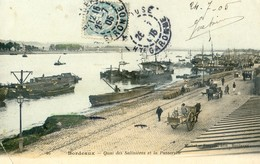33 - Bordeaux - Quai Des Salinières Et La Passerelle - Bordeaux