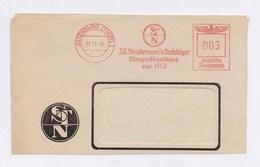 Briefausschnitt AFS WEIMAR, ALTENBURG, Steudemann`s Nachfolger Eisengroßhandlung 1942 - Deutschland