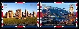 United Nations (Geneva) 2018 Mih. 1045/46 UNESCO World Heritage In United Kingdom (I) MNH ** - Ginevra - Ufficio Delle Nazioni Unite