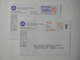 Prêt à Poster Réponse , POSTREPONSE Et PRIO 20g, Ciappa-Kavena, 2 Enveloppes Neuves, TB. - Prêts-à-poster: Réponse /Ciappa-Kavena