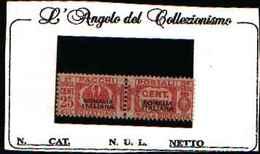 73910)SOMALIA-ITALIANA--25 C.Pacchi Postali Tipo Fascio Littorio, Soprastampa Del Primo Tipo - 1928-MNH** FIRMATO - Somalie
