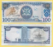 Trinidad & Tobago 100 Dollars P-51b 2006 Sign. Rambarran UNC - Trinité & Tobago