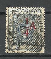 INDIA BHOPAL 1935/36 Michel 16 Service Dienstmarke O - Bhopal