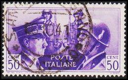 1941. HITLER & MUSSOLINI. CENT 50. (Michel 626) - JF308466 - Gebraucht