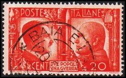 1941. HITLER & MUSSOLINI. CENT 20. (Michel 624) - JF308464 - Gebraucht