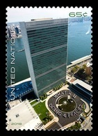 United Nations (New York) 2018 Mih. 1660 Definitive Issue. Headquarters Of The United Nations MNH ** - New York -  VN Hauptquartier