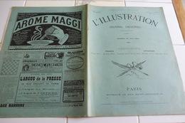 L'ILLUSTRATION 18 JUIN 1904-CATASTROPHE DE MAMERS - LA COUPE GORDON-BENNETT - LA GUERRE RUSSO-JAPONAISE - L'Illustration