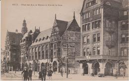57 - METZ - HOTEL DES ARTS ET METIERS ET RUE DE LA GARE - Metz