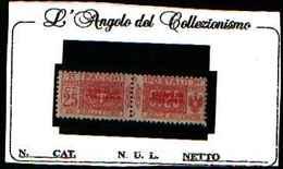 73913)SOMALIA--25 C. Pacchi Postali Soprastampati SOMALIA ITALIANA Del PRIMO Tipo In Rosso NON EMESSO-1926-MNH** - Somalie