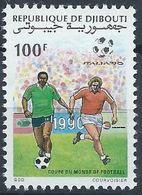 Djibouti YT 667 XX / MNH Sport Football Worldcup - Djibouti (1977-...)