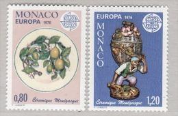 MONACO 1976 - SERIE N° 1062 Et 1063  - 2 TP NEUFS** - Monaco