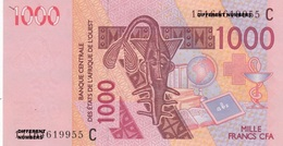 BURKINA FASO C  AFRIQUE OUEST WEST AFRICA 1000 CFA BCEAO Pick 315C 2003 NEUF NEW UNC FDS CHAMEAU CAMEL ASHANTI WEIGHT - Burkina Faso