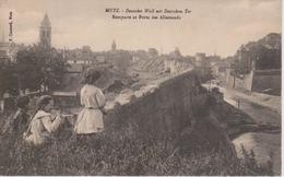 57 - METZ - REMPARTS ET PORTE DES ALLEMANDS - Metz