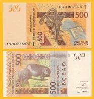 West African States 500 Francs Togo (T) P-819T 2018 UNC - Estados De Africa Occidental