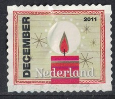 Pays Bas 2011 Sans Gomme Used Burning Candle Bougie Allumée SU - Period 1980-... (Beatrix)