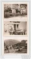 6214 AK /PC/ 3 X CP CARTE PHOTO/1113/GRECE/MYCONOS - Grecia