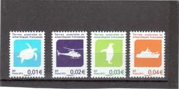 M29 - TAAF - PO 705/708 ** De 2014 - Faune Et Transports. - Neufs