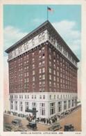 Arkansas Little Rock Hotel La Fayette Curteich - Little Rock