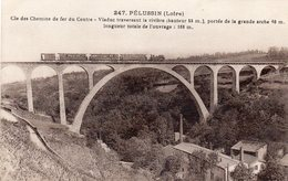 ¤ Pélussin - Viaduc Traversant La Rivière , Portée De La Grande Arche - Pelussin