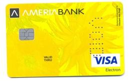 Armenia VOID AmeriaBank Vincent Van Gogh - Cartes De Crédit (expiration Min. 10 Ans)