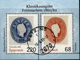 Oostenrijk Mi Blok 94 Jaar 2017, Prachtig Gestempeld,  Zie Scan - Blocs & Feuillets