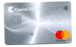 Azerbaijan VOID Kapital Bank Silver - Cartes De Crédit (expiration Min. 10 Ans)