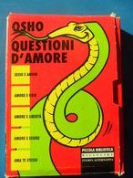 """OSHO """" QUESTIONI D'AMORE """" COFANETTO STAMPA ALTERNATIVA 1996 - RARO - Livres, BD, Revues"""