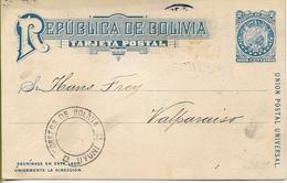 BOLIVIE  Républica De BOLIVIA Tarjeta Postal (entier Postal) - Bolivie