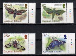 CAYMAN ISLANDS, 2017, MNH, INSECTS, MOTHS, BUTTERFLIES,  4v - Butterflies