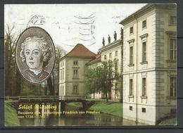 Germany RHEINSBERG Castle (sent 1992, With Stamp) - Rheinsberg
