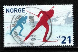 Noorwegen, Yv 1843 Jaar 2016, Hoge Waarde, Gestempeld, Zie Scan - Norvège