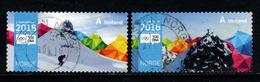 Noorwegen, Yv 1840-41 Jaar 2016,  Gestempeld, Zie Scan - Norvège