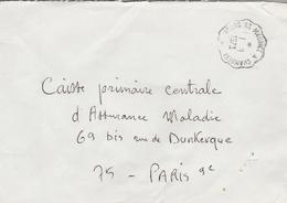 LSC 1973 - Ambulant Cachet Convoyeur - Bourg St Maurice à Chambéry - Postmark Collection (Covers)