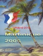 Neuf Rare Coffret Série 8 Pièces Euros Probe Essaie Martinique Année 2005 Édité À 7 000 Exemplaires Seulement ! Pro ! - EURO
