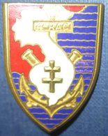 4° Régiment D'Artillerie Coloniale, émail - Armée De Terre