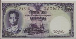THAILAND  P. 74a 1 B 1955 UNC (s. 34) - Thaïlande