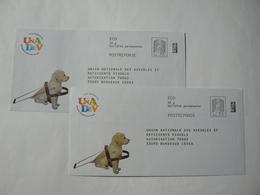 Prêt à Poster Réponse , POSTREPONSE  20g, ECO, Ciappa-Kavena, 2 Enveloppes Neuves, TB. - Entiers Postaux