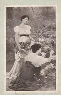 7977.   Fiori Primaverili - 1920 Timbro Romano Canavese E Banchette  Ivrea - FP - Cartoline