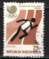 INDONESIA - 1988 - GIOCHI OLIMPICI DI SEUL - USATO - Indonesia