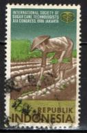 INDONESIA - 1986 - CONGRESSO SULLE TECNOLOGIE PER LA COLTIVAZIONE DELLA CANNA DA ZAUCCHERO - USATO - Indonesia