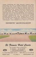 Alabama Montgomery St Francis Hotel Courts - Montgomery