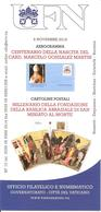 VATICANO - 2018 Bollettino UFN - Aerogramma Card. Marcelo Gonzalez Martin, CP Millenario Basilica S.Miniato In Monte - Papi