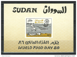 Sudan 1988 ( UN - World Food Day ) - S/S - MNH (**) - Soudan (1954-...)