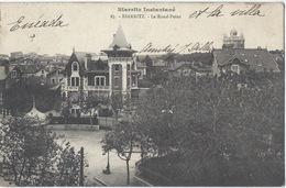 64 - BIARRITZ - Le Rond Point (et La Villa Enéada)- Années 1900s - Biarritz