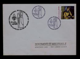 CNE GROUP.159 Scouting Scoutisme Portugal SÃO JOÃO Portimão Scouts Tsf (pmk Special E-cover) Gc3716 - Covers & Documents