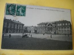 44 5964 CPA 1908 - 44 NANTES. PLACE LAFAYETTE. LA GENDARMERIE, LA MAISON D'ARRET ET LE PALAIS DE JUSTICE - ANIMATION - Nantes