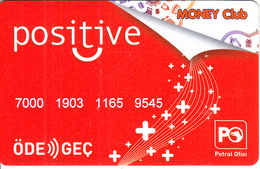 TURKEY - Petrol Ofisi, Positive Magnetic Card, Used - Autres Collections