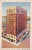 Arkansas Little Rock Hotel McGehee 1942 Curteich - Little Rock