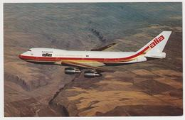 [924] ALIA The Royal Jordan Airline. Boeing 747.- Official Postcard. Carte Postale Officielle. Tarjeta Postal Oficial. - 1946-....: Modern Era
